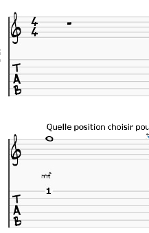 Tablatures ou Partitions - TF Méthode
