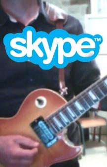 Apprendre la musique à distance via Skype